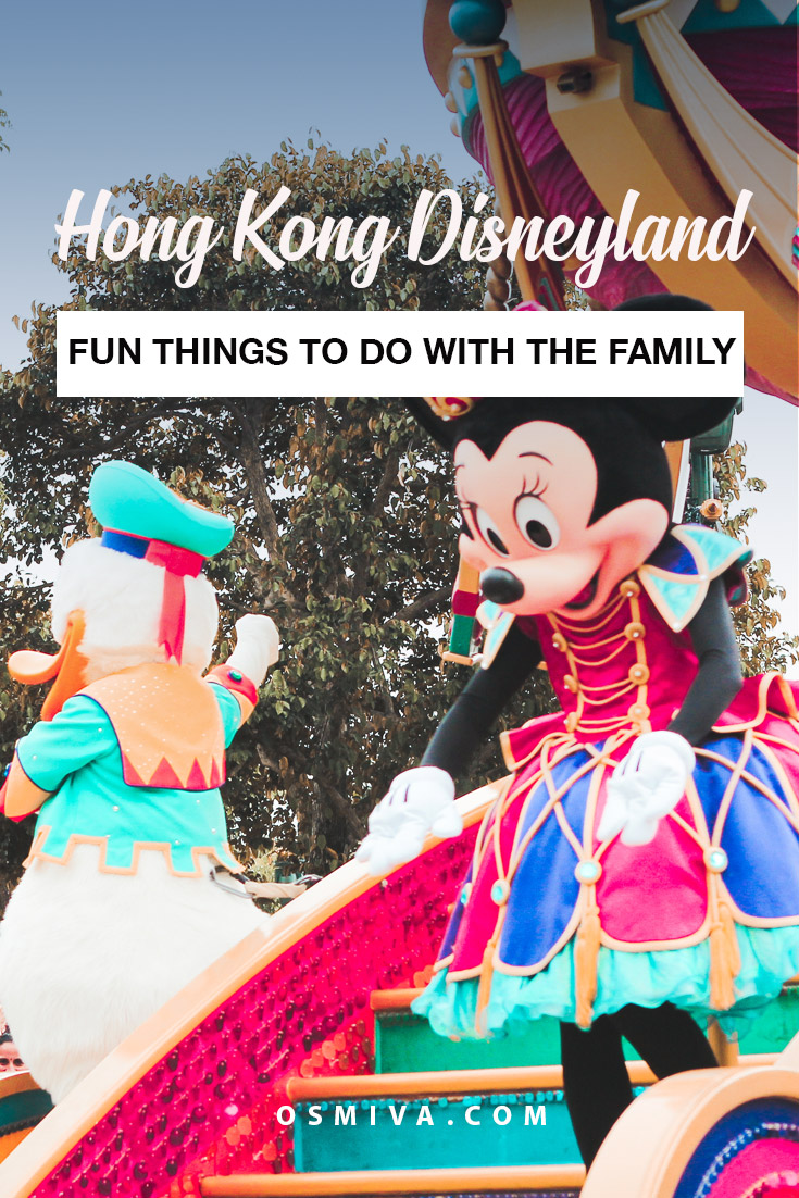 Hong Kong Disneyland with Family