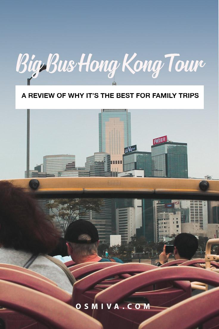Hop-On Hop-Off Bus Hong Kong