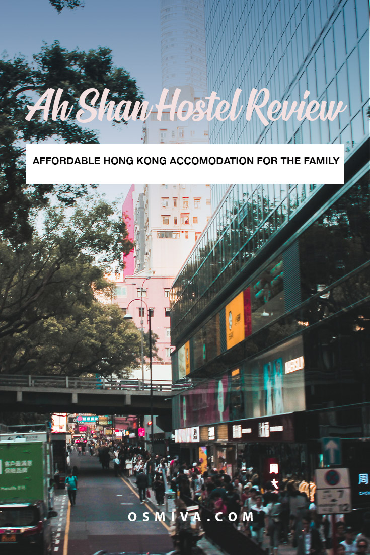 Ah Shan Hostel Hong Kong Review