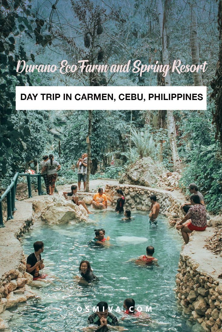 Day Use at the Durano Eco Farm and Spring Resort in Carmen, Cebu, Philippines. Your guide to a day trip to the Cold Spring in Carmen. What to do, things to bring, how to get here and rates when you visit. #travelguide #travelph #cebuphilippines #duranoecofarm