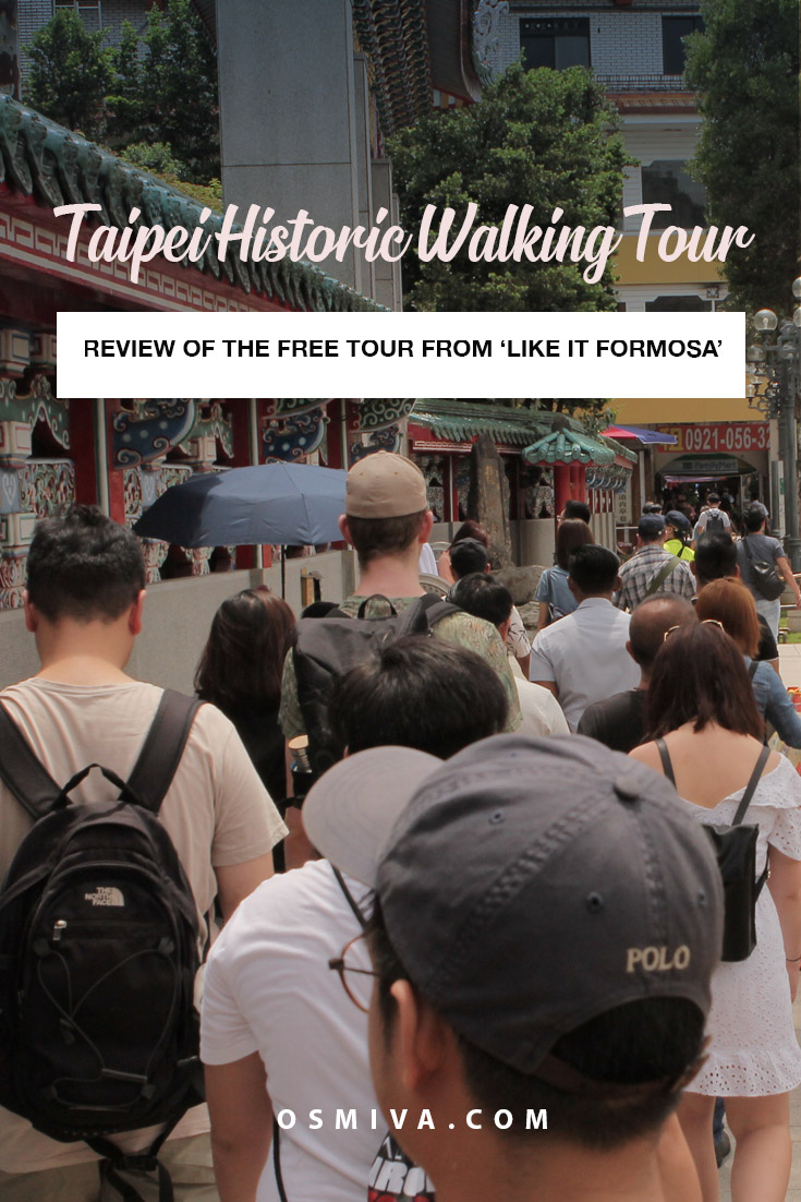 Free Historic Tour Taipei