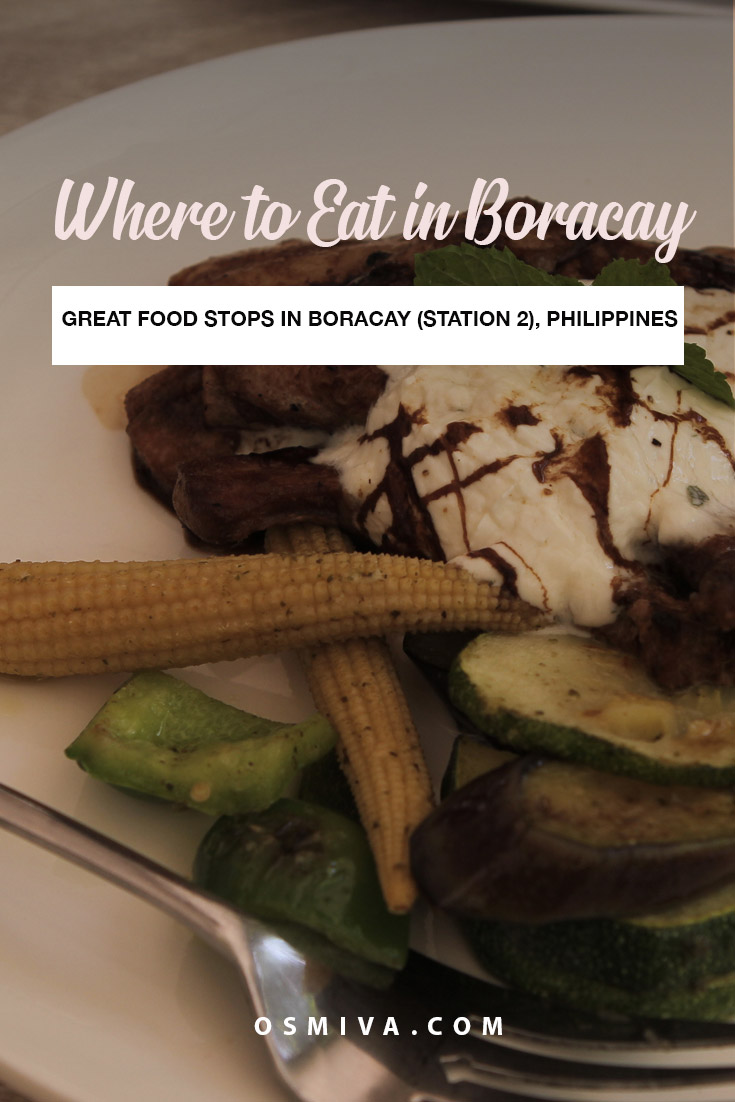 Where to Eat Boracay