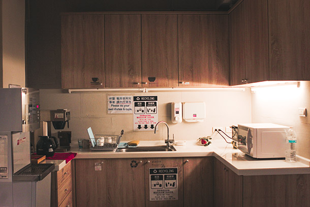 Kitchen at the Hostel