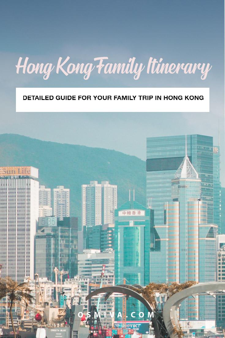 HK Family Itinerary