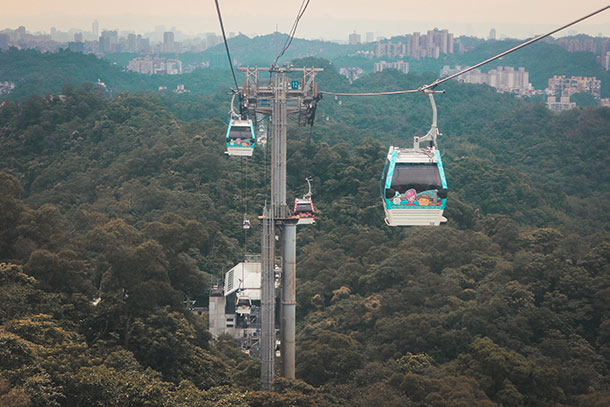Things to do in Taipei: Maokong Gondola