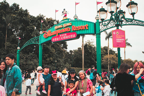 Disneyland Signage