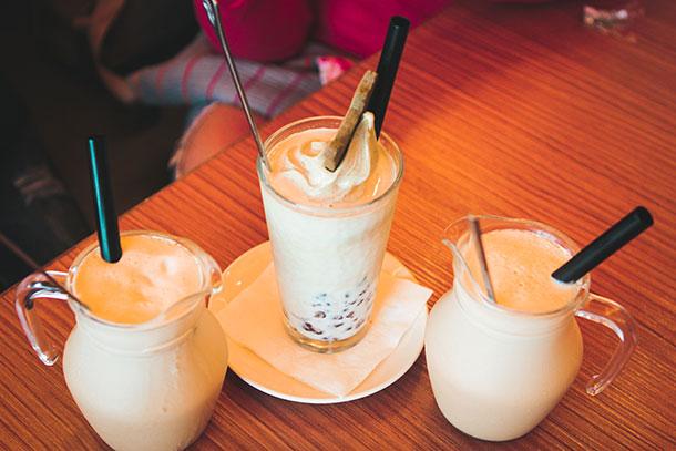 Milk Tea in Maokong