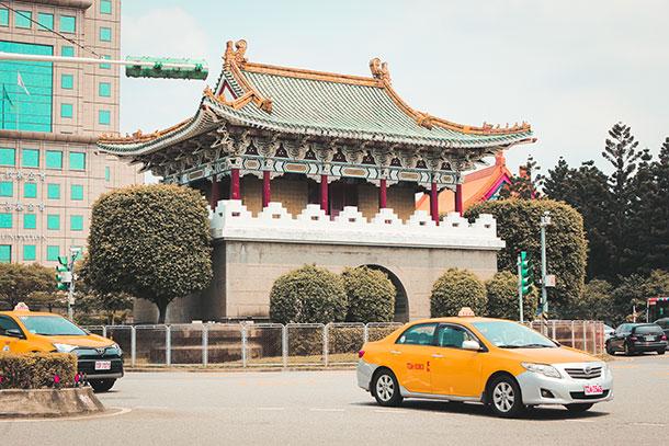 Gates in Taipei