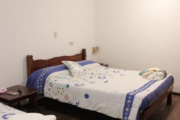 Quad Economy Room at the Deparis Beach Resort