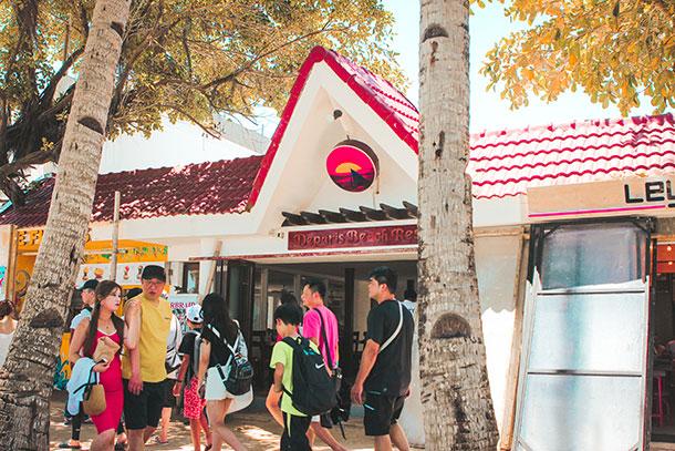 Facade of the Boracay Resort