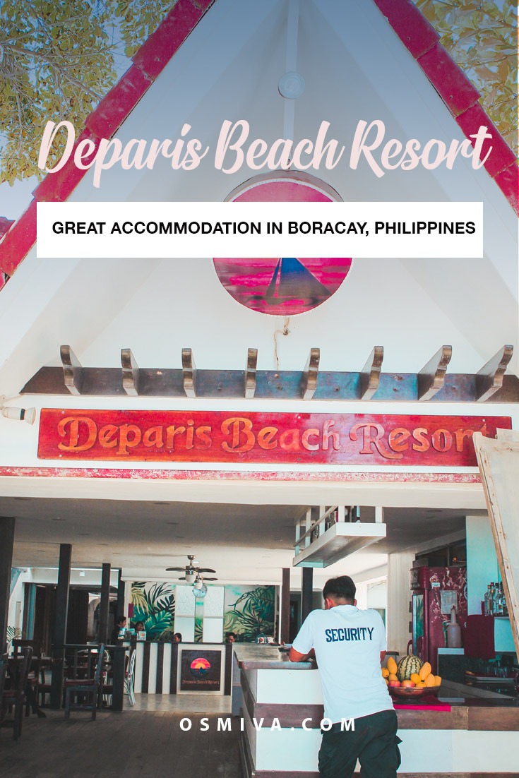 The Deparis Beach Resort Review: Great Accommodation in Boracay Station 2. Our stay at the Deparis Beach Resort. Why You'll Love Staying at the Resort #boracay #boracayphilippines #boracayhotel #boracayaccommodation #philippines #budgetfriendlyaccommodation #wheretostayinboracay