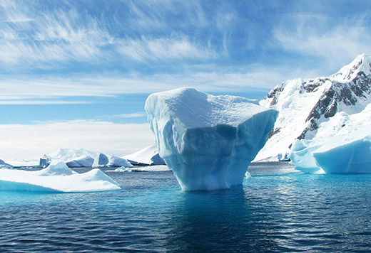 Antarctica Facts: ice sheets
