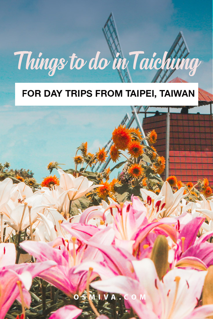 Things to do in Taichung on day trips. Taichung attractions that you can enjoy on a day trip. Taipei day trips that you can take when you visit Taiwan. #taipei #taipeidaytrips #taichung #thingstodointaipei #thingstodointaichung #taiwan #asia #daytrips