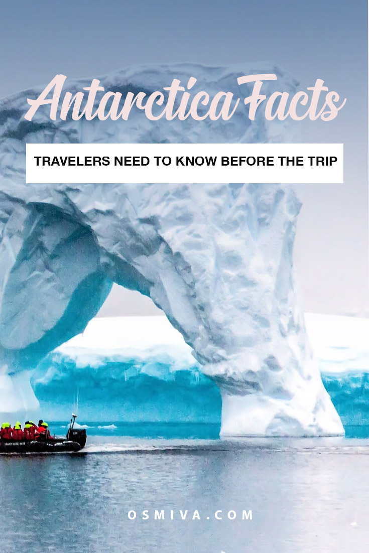 Facts About Antarctica That Travelers Should Know. 10 things to know before visiting Antarctica. Tips to know when visiting Antarctica #antarctica #traveltips #thingstoknowbeforevisitingantarctica #antarcticafacts