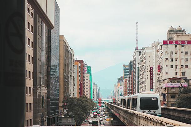 Taipei MRT Station to the Taipei Zoo