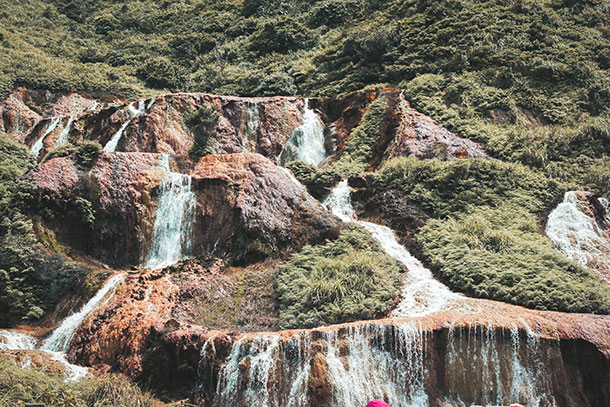 Jiufen Golden Waterfall