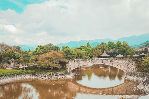 Bridge at the Ximen Castle