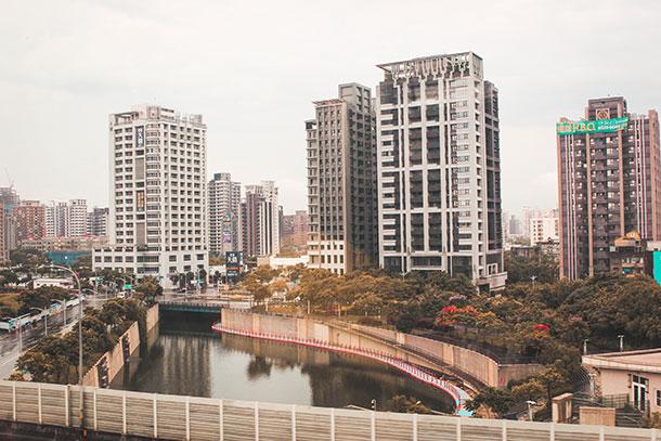 Skyscrapers in Taiwan