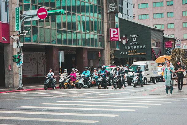Locals in Taipei