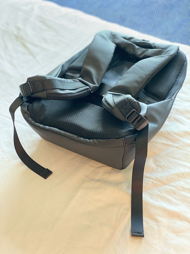 Bag Quality of Nayo Anti-Theft Shell Backpack