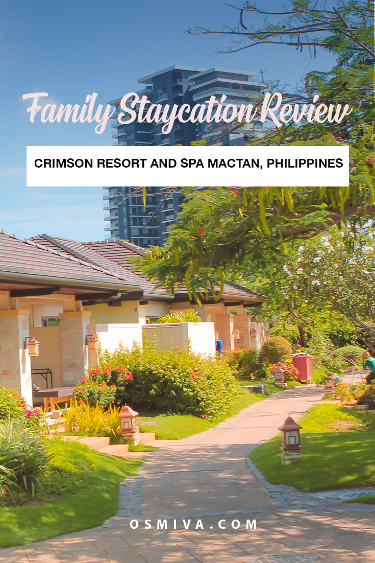 Staycation at the Crimson Resort and Spa Mactan
