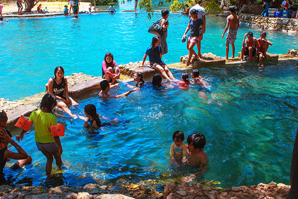 Swimming at Banyan Cold Spring