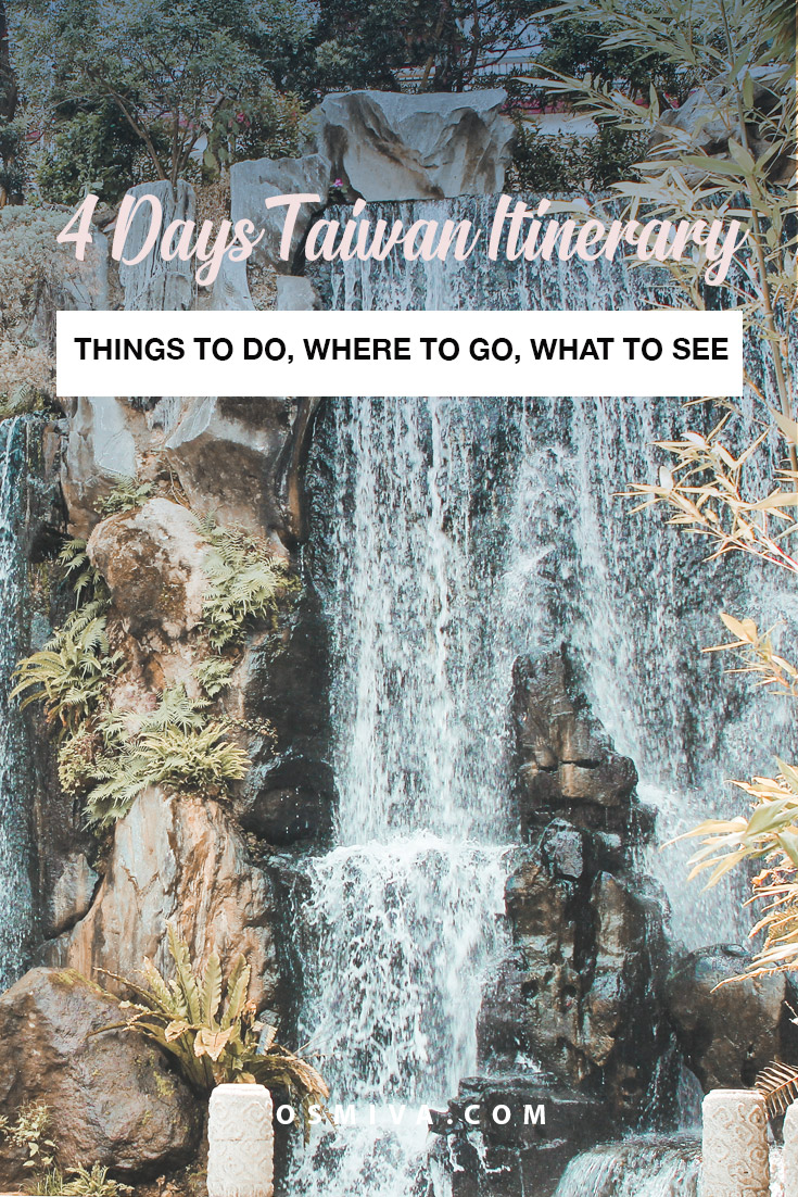 Four-Day Itinerary in Taiwan