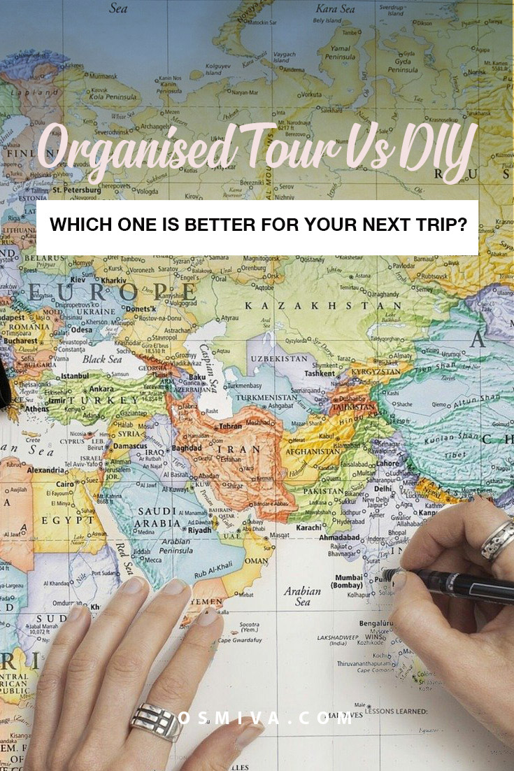 Organised Tour vs DIY: Which One is Better For Your Next Trip? Advantages of going on an organised tour. Advantages of doing it yourself (DIY). Planning your trip with an organised tour and DIY. #traveltips #organisedtours #diytravel #planningtrips