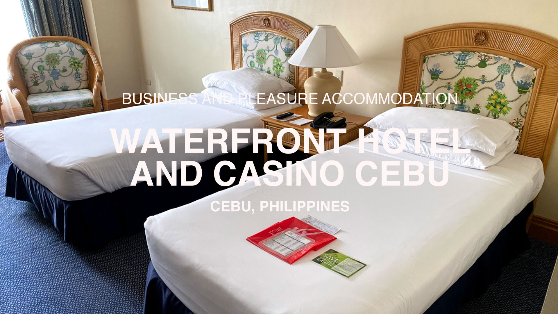 Business and Pleasure Accommodation in Cebu: A Review of the Waterfront Hotel and Casino Cebu