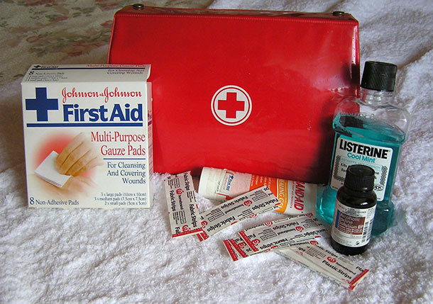 Medicines and First-Aid Kit