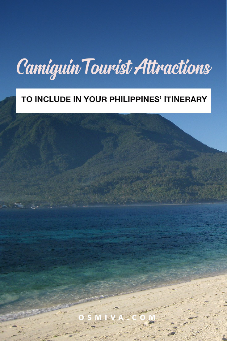 What Camiguin Tourist Attractions You Should Not Miss. This lists popular tourist destinations when you visit the island of Camiguin in Mindanao, Philippines. You can include these on your 2-day itinerary to Camiguin. #travel #destination #camiguintouristattractions #philippines #osmiva