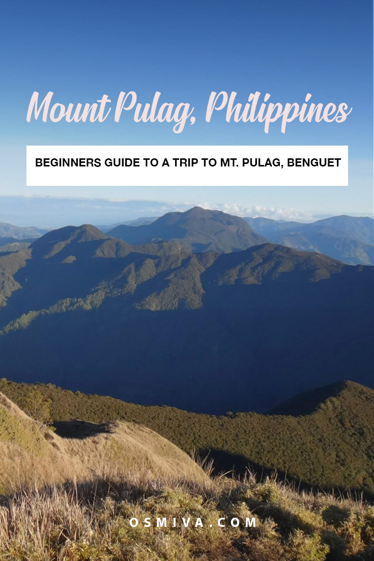 9 Things I Wish I Knew Before Trekking Mt. Pulag. Including tips to enjoy the trek and the view! #traveladventures #traveltips #mountpulag #mountpulagbenguet #benguet #benguetphilippines #asia #philippineshike #osmiva @osmiva