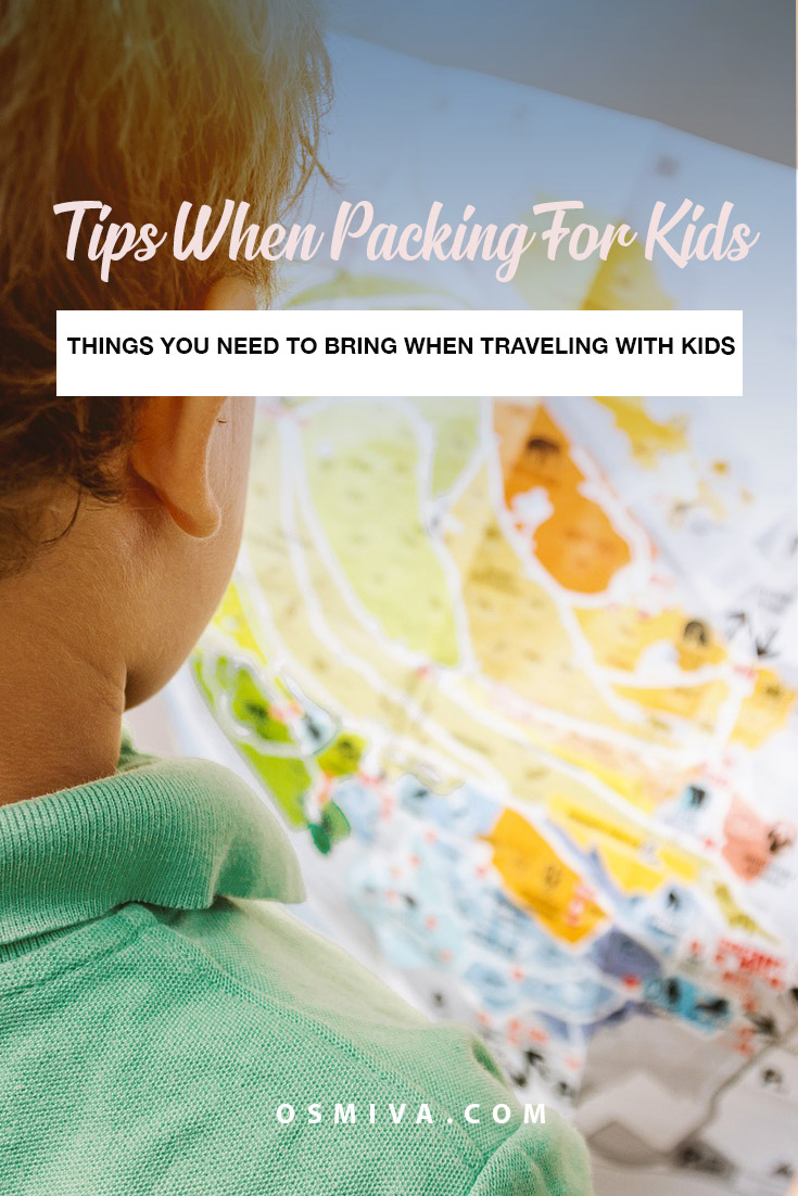 Tips When Packing for Kids