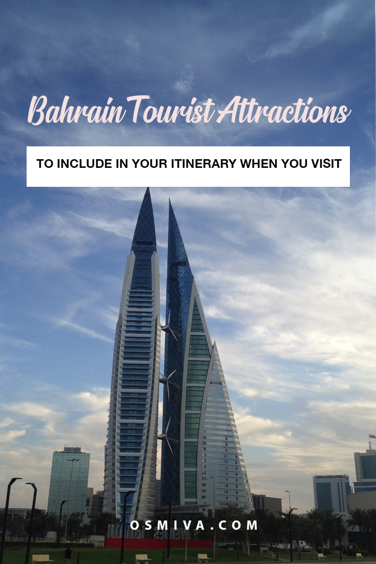 Bahrain Attractions You Should Not Miss. List of Bahrain tourist attractions to include in your itinerary. #bahrain #kingdomofbahrain #bahrainattractions #bahraintouristattractions