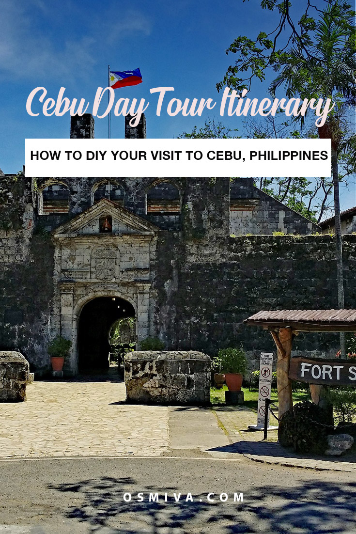 How to DIY Your Cebu Day Tour. List of budget and expenses for your Cebu City Tour with Cebu Itinerary. Plus tips on how to enjoy your DIY Cebu Tour. #cebudaytour #cebudiytour #cebucity #philippines
