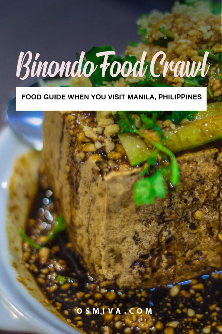 Tasting Treats at the Binondo Food Crawl #travelph #binondo #binondofoodcrawl #chinatownph #choosephilippines #itsmorefuninthephilippines #travel #osmiva