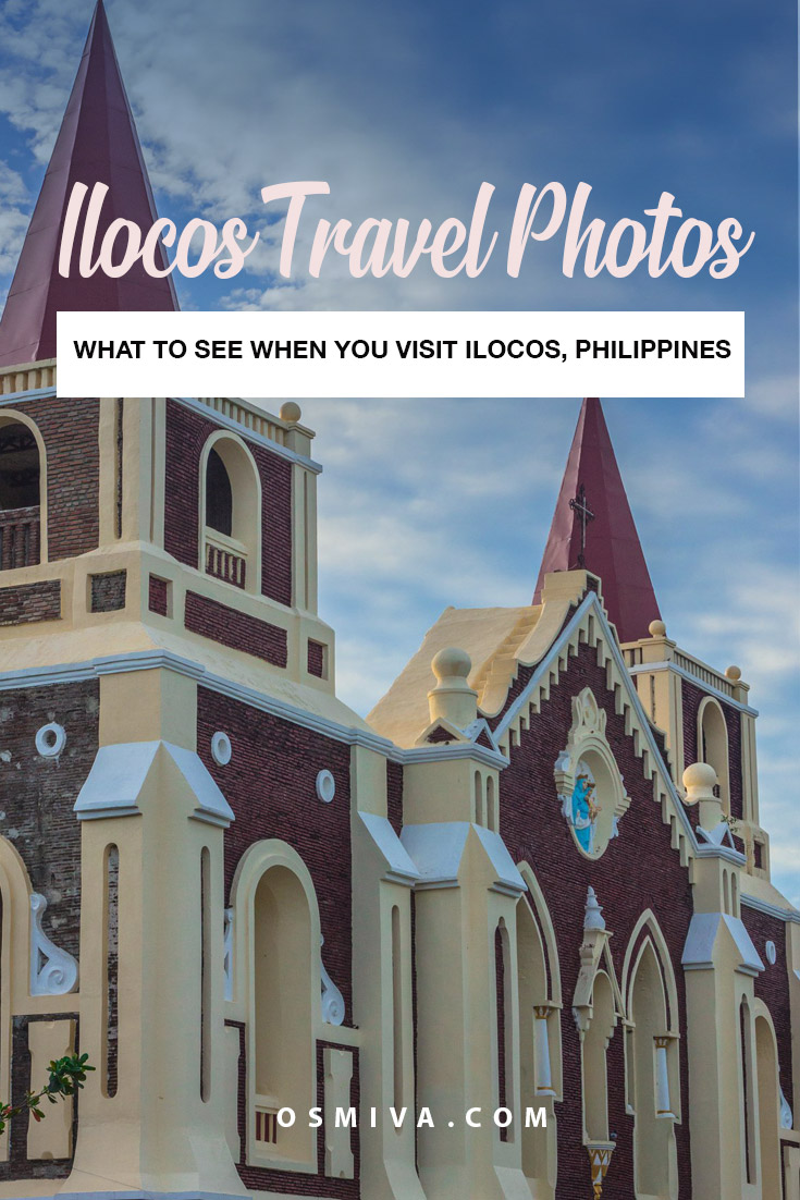 Ilocos, Philippines in Photos: Highlights of Our Ilocos Tour. Photos of Ilocos, Philippines to inspire wanderlust #philippines #travelphotography #ilocosphotos #asia