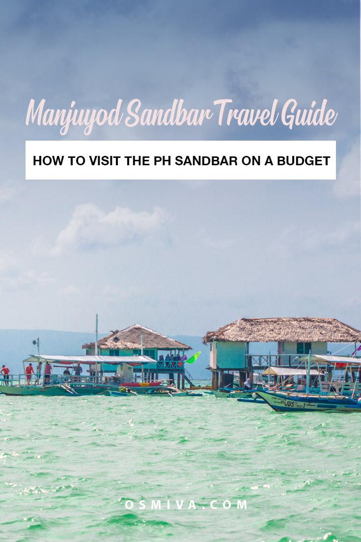 How To Visit Manjuyod Sandbar in Manjuyod, Negros Oriental, Philippines on a Budget. Includes guide on how to get there, what to expect, travel tips and things to in Manjuyod Sandbar to make your tour an enjoyable one. #philippines #manjuyodsandbar #negros #maldivesofthephilippines #osmiva #budgettravel #traveltips