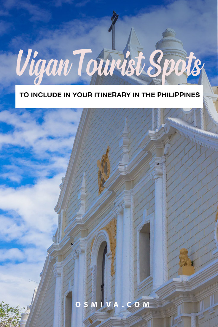 Vigan Tourist Spots You Can Visit In A Day - Exploring The Philippine's World Heritage City. Including how to get there, what to expect, where to stay and what food to try! #vigan #philippines #ilocossur #viganilocos #travelguide #travel #vigantravel #vigantouristspots