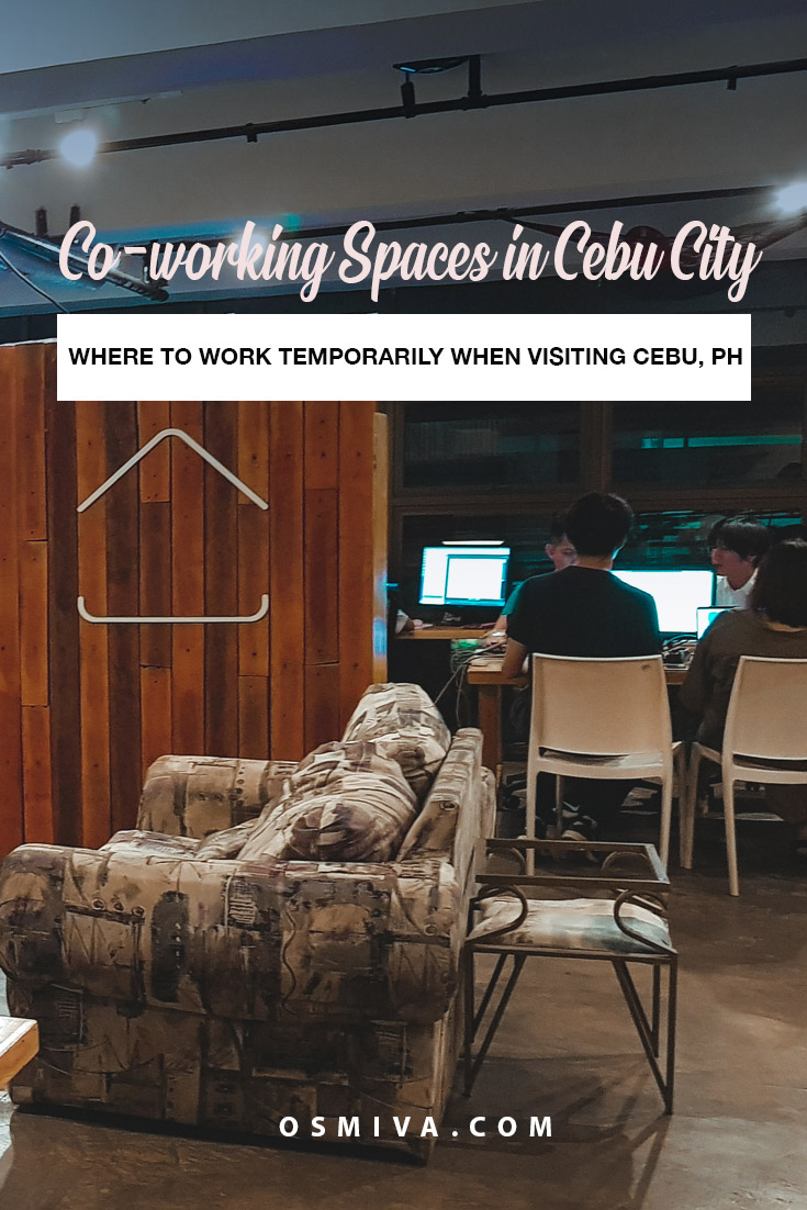 Affordable Co-Working Spaces for Travelers and Digital Nomads in Cebu City, Philippines. The list includes some of our favourite co-working spaces in Cebu City, our review of them and how to get there. They are great places to work in and become productive especially if you need a change of atmosphere. #coworkingspace #digitalnomad #cebucity #philippines #coworkingspacesincebu #travelguide