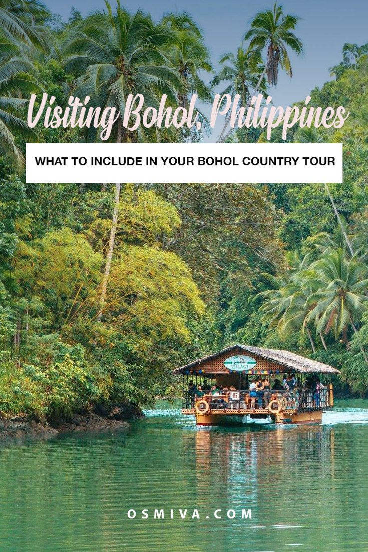 Relaxing Bohol Tourist Spots To Visit On Your Bohol Tour on the Countryside! Check out tips on how to enjoy your trip, with accommodation recommendations in the city plus travel tips for big groups! We have also included an itinerary and fees breakdown for you! #bohol #boholtour #philippines #boholcountrytour #travelguide #boholguide #osmiva