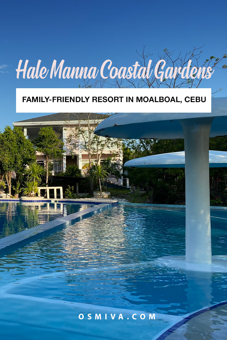 Solitude and Reflection at the Hale Manna Coastal Gardens in Moalboal. Accommodations in Moalboal, Cebu. Family-friendly resort in Cebu Province that is worth traveling to