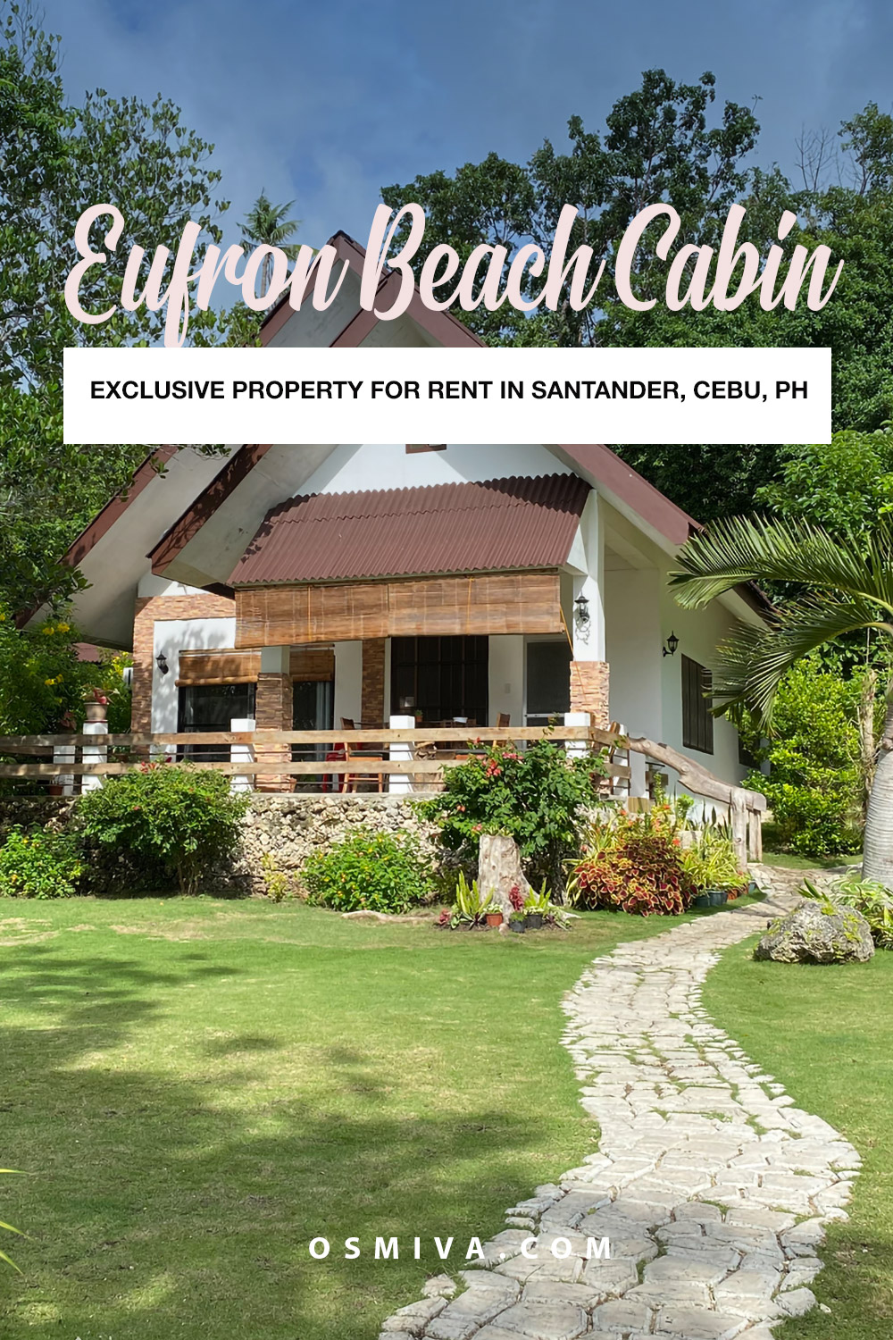 Beach Cabin in Santander Cebu