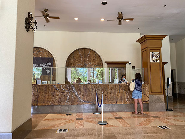Check In at Jpark Island Resort