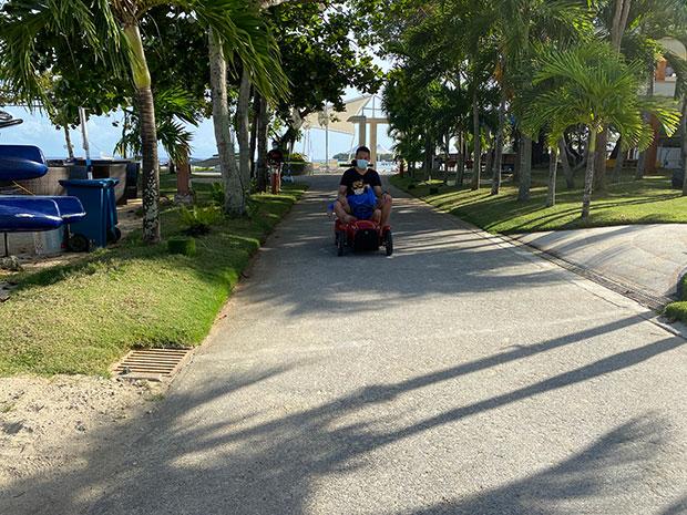 D Thrones Ride in Jpark Resort Cebu