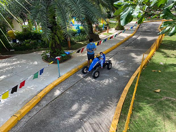 Go Kart Ride in Jpark Resort Cebu