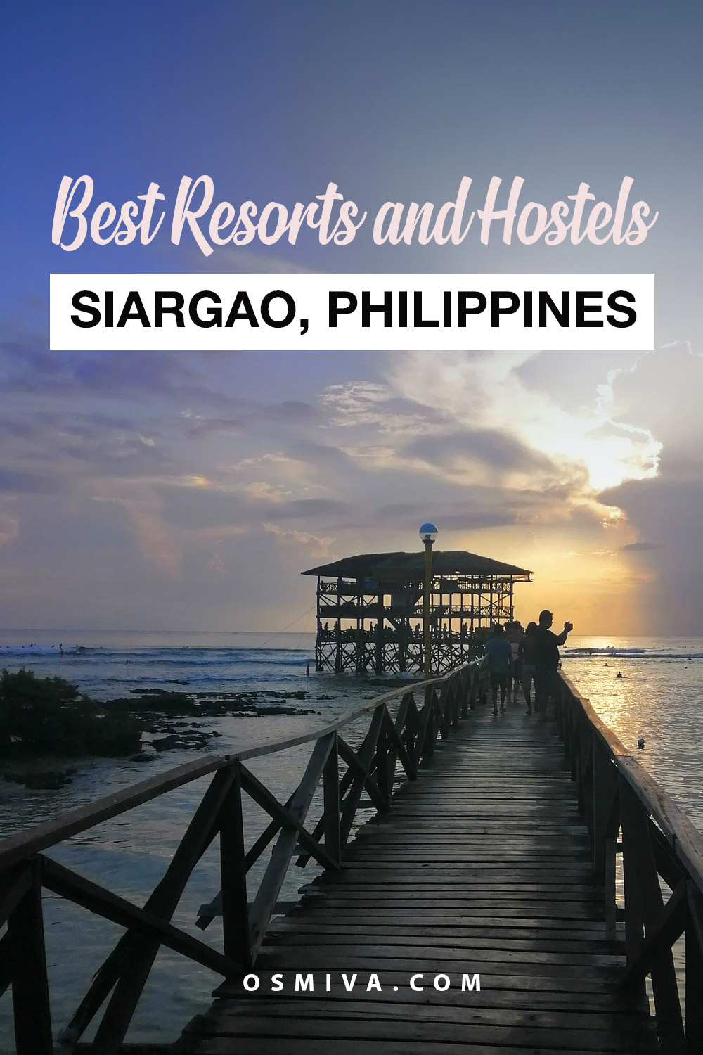 Best Siargao Resorts and Hostels For An Extraordinary Vacation. Best places to stay when in Siargao, Philippines. #beachvacation #philippinesisland