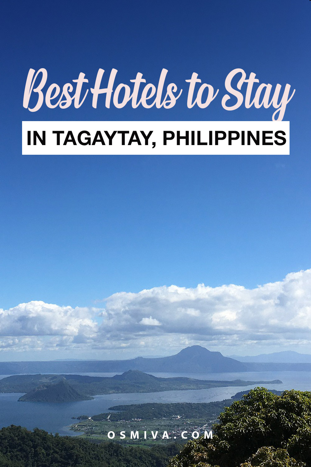Best Tagaytay Hotels for the Family. Best places to stay when in Tagaytay #familyhotels #tagaytayhotels