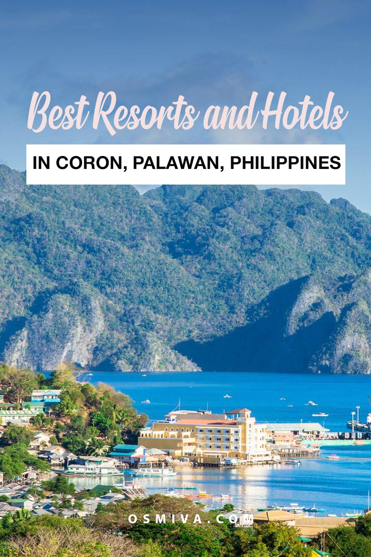List of the best accommodations in Coron Palawan Philippines. Accommodations for both luxury and budget travel. #coronhotels #coronaccommodations #coronresorts